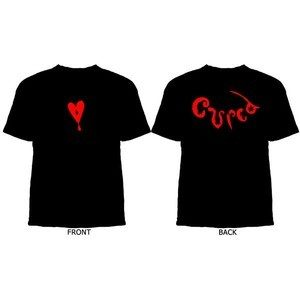 Lol Tolhurst Cured T-Shirt Black and Red